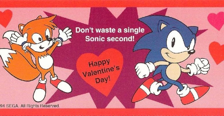Sonic Valentine S Collection Now Available At Sega Shop