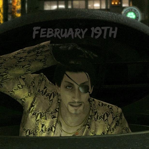 yakuza kiwami is coming in February