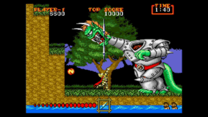 Mega Drive Mini - Ghouls N Ghosts