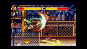 Mega Drive Mini - Street Fighter II