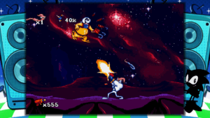 Mega Drive Mini - Earthworm Jim