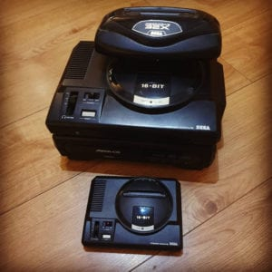 Mega CD and 32X vs Mega Drive Mini