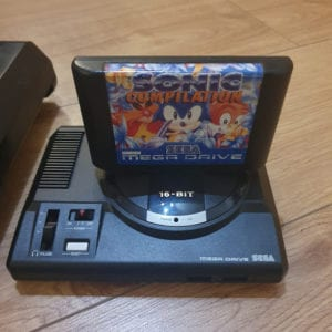 Mega Drive Mini vs Cartridge